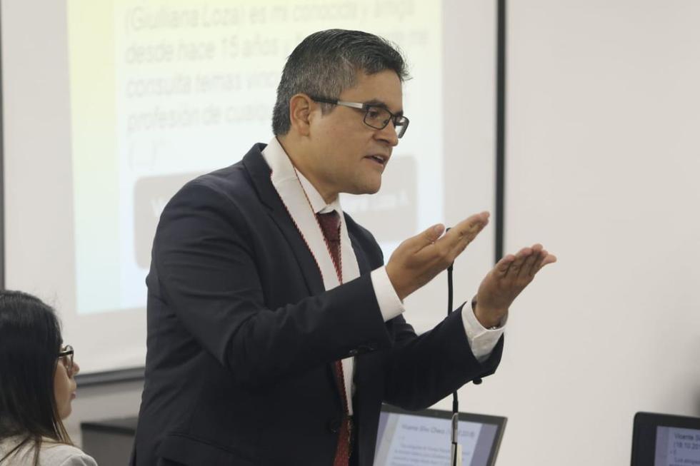 El fiscal José Domingo Pérez insistió en que Giulliana Loza representa un peligro para la averiguación de la verdad. (Foto: GEC / Video: Justicia TV)