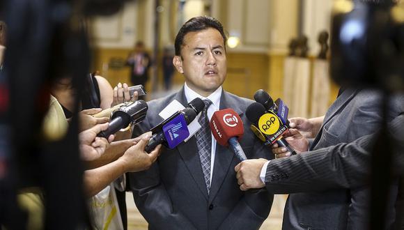 Richard Acuña votó a favor de la elección del nuevo integrante del TC. (Foto: Congreso)