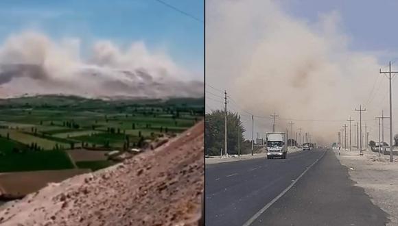 Arequipa: Fuerte sismo de 5.5 provocó deslizamientos de tierra y remeció a toda la Ciudad Blanca