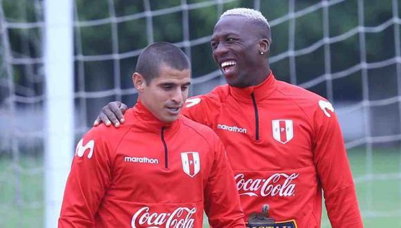 Luis Advíncula y Aldo Corzo tienen una sana competencia por el puesto de lateral derecho en la selección peruana. (Foto: GEC)