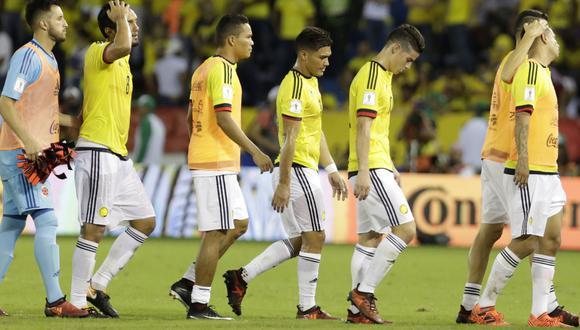 Colombia visitará a Perú el 10 de octubre por la última fecha de las Eliminatorias Rusia 2018. (EFE)