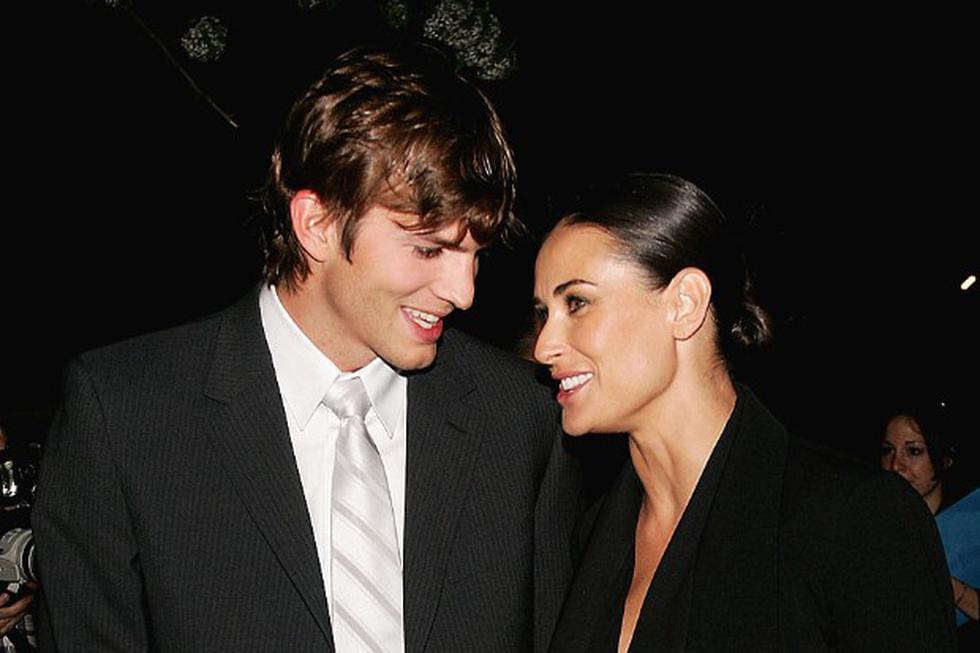 Historia de desamor entre Demi Moore y Ashton Kutcher. (Getty Images)
