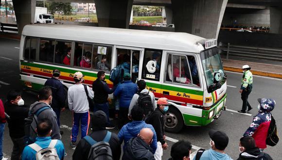 Paro de transporte público urbano en Lima y Callao se realizará el miércoles 7 de abril. (Foto: Ángela Ponce)