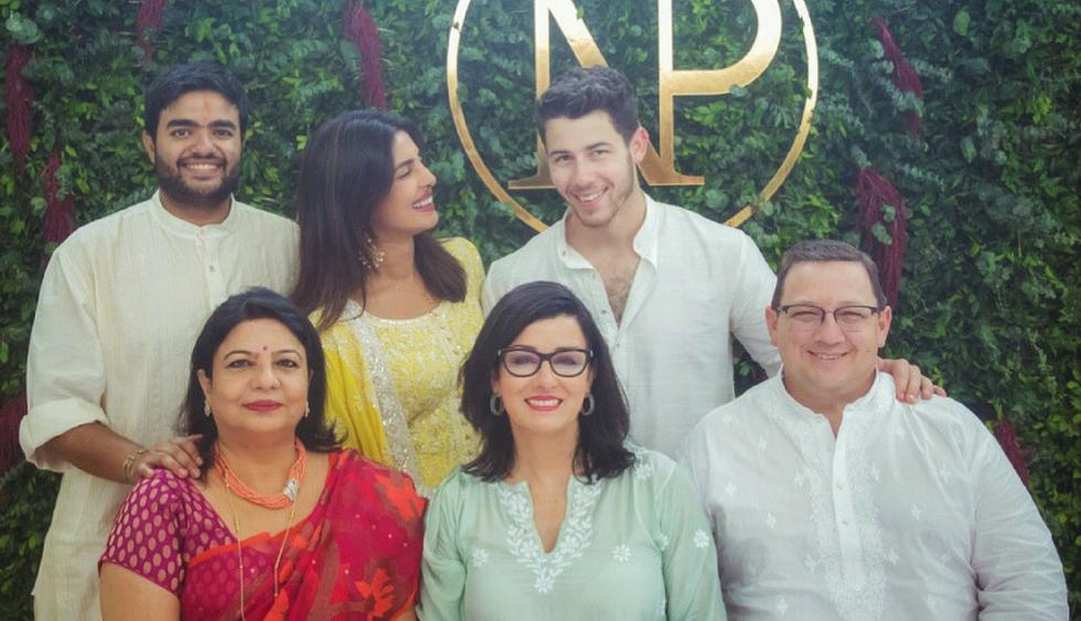 Nick Jonas y Priyanka Chopra compartieron fotografías de la ceremonia de compromiso | Fotos: Instagram