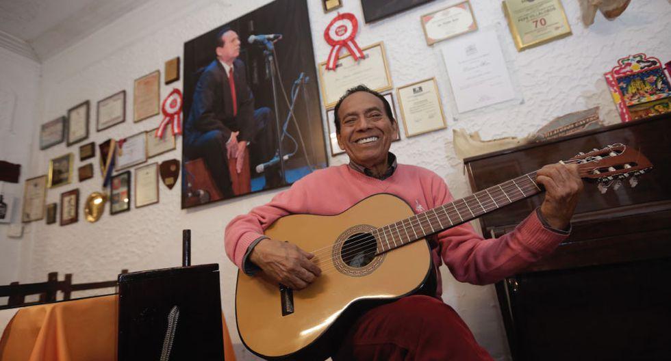 El músico es feliz compartiendo su legado musical con nuevas generaciones. No quiere que la música criolla muera. (Foto: César Campos/Perú21)