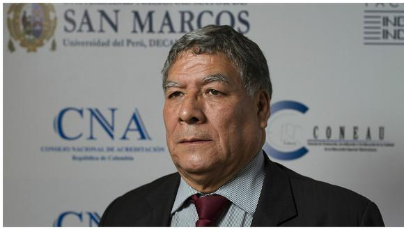 El rector Orestes Cachay se encuentra delicado de salud por un caso relacionado al COVID-19. (GEC)