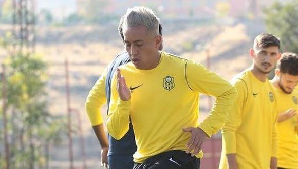 Christian Cueva no entrena con el primer equipo de Yeni Malatyaspor. (Foto: Yeni Malatyaspor)