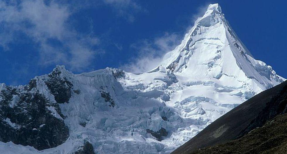 Dos italianos fueron reportados como desaparecidos cuando intentaban ascender el nevado Alpamayo. (Fernando Robles)