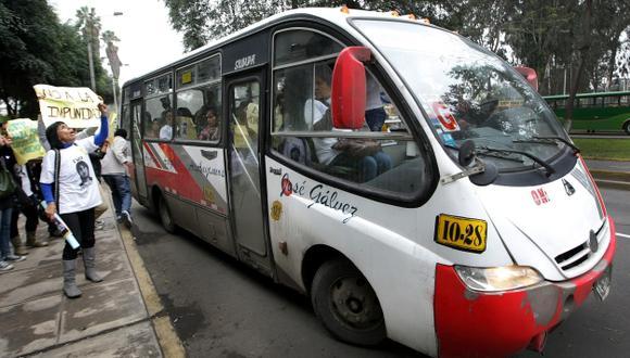 SANGRE EN PISTAS. Los buses de Orión han causado accidentes fatales, como el de Ivo Dutra. (Luis Gonzales)