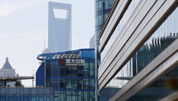 Evergrande Center de China se ve en Shanghai,. (REUTERS/Aly Song)