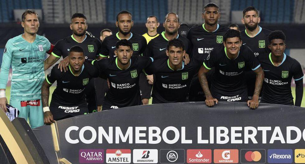 Alianza Lima vistió a Racing por la Copa Libertadores   Foto: Agencias