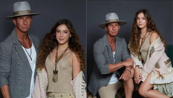 """Erik Rubín y su hija Mía celebraron el lanzamiento de su álbum """"Raíces"""". (Foto: @erikrubinoficial)"""