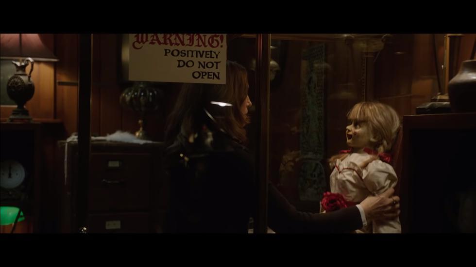 Annabelle 3: estrenan tráiler de la secuela de la muñeca diabólica (Foto: Captura de pantalla)