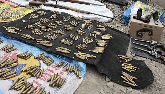 Mil granadas y más de 100 mil municiones fueron robadas del Ejército. (USI/Referencial)