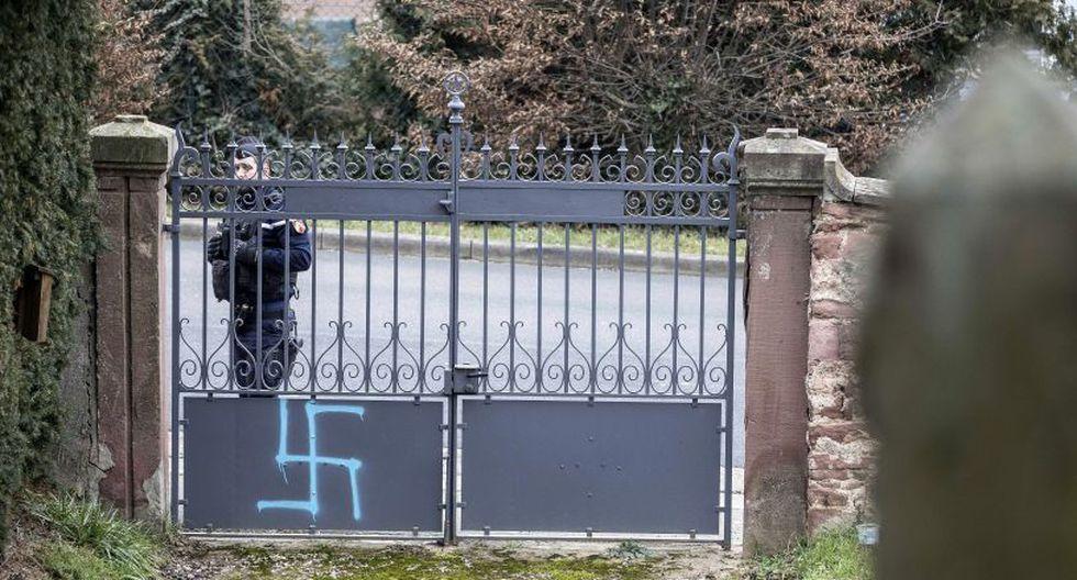 Según cifras publicadas la semana pasada por el ministerio del Interior, el número de actos antisemitas se dispararon un 74% en Francia en 2018. (Foto: AP)