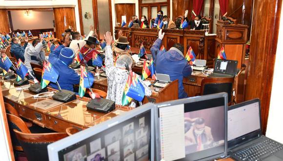 La ley fue aprobada este jueves por la Cámara de Diputados de Bolivia. La noche del miércoles, el Senado hizo lo propio. (Foto: Cámara de Diputados de Bolivia)