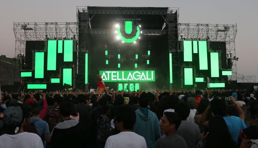 El escenario de este año tuvo una altura de 53 m. de ancho por 23 m. de alto. El festival terminó a las 04:30 a.m.