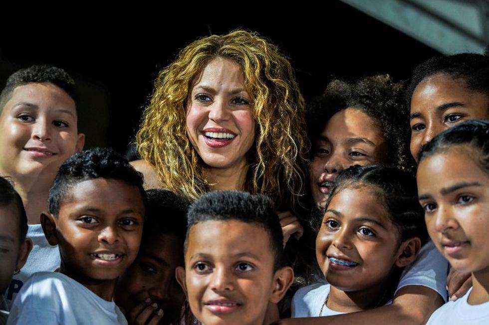 Shakira culmina gira mundial y revela que construirá colegios en Colombia (Fotos: AFP)