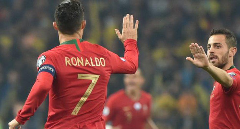 Portugal vs. Lituania: juegan con Cristiano Ronaldo por las Eliminatorias rumbo a la Eurocopa 2020. (Foto: AFP)