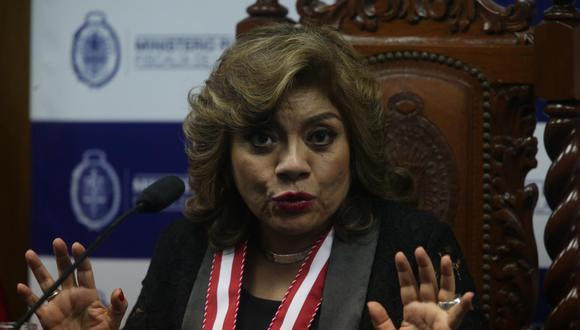 Zoraida Ávalos fue relacionada con el operador José Luis Cavassa por un aspirante a colaborador eficaz. (GEC)