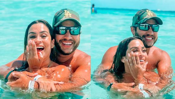 La conductora de televisión anunció en mayo que tenía un romance con Julián Alexander.