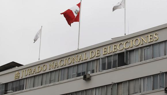 El pleno del JNE aprobó que los partidos políticos puedan inscribirse virtualmente. (Foto: Andina)