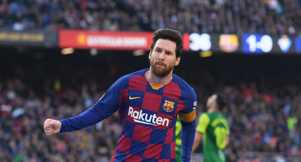 Lionel Messi. (Foto: AFP)