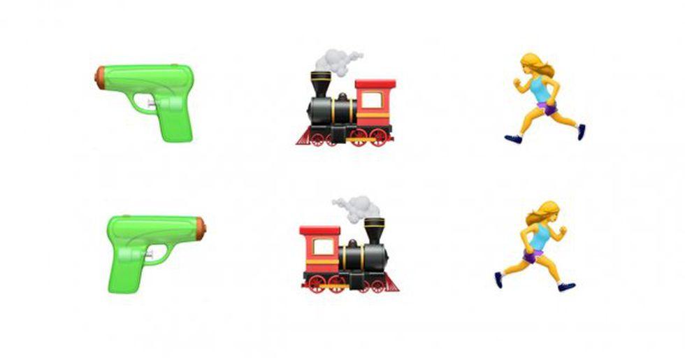 Los emojis podrán girar a ambos lados. (Unicode)