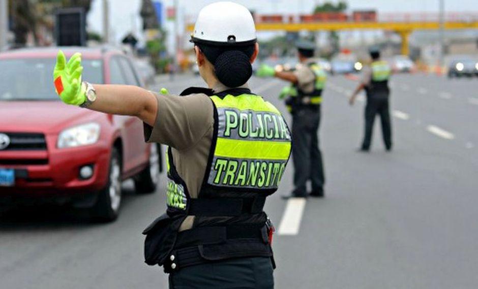Las papeletas son sanciones monetarias que se pagan cuando se comete una infracción de tránsito. (Foto: Andina)