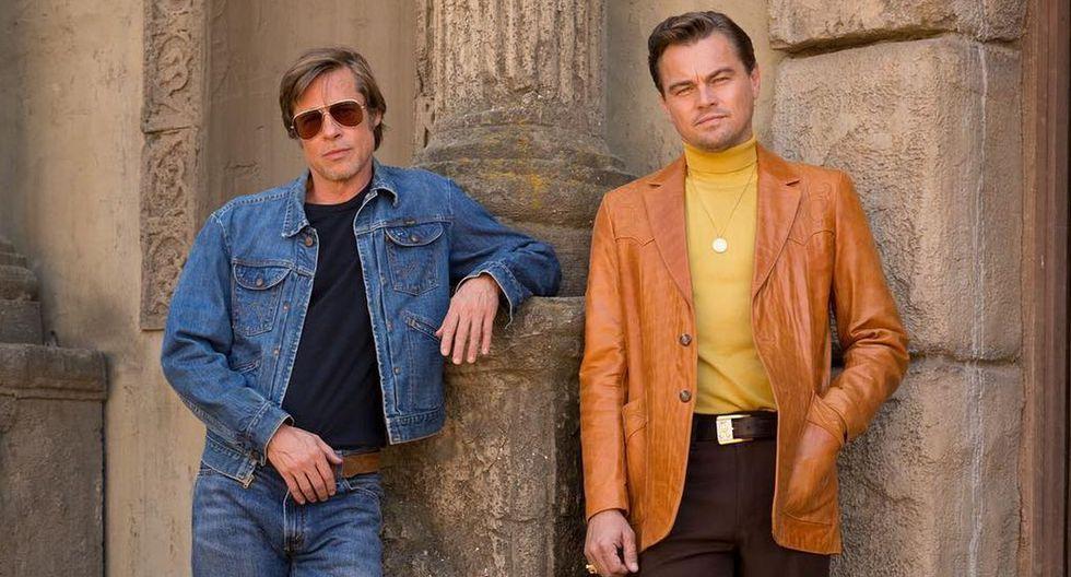 """Brad Pitt y Leonardo DiCaprio protagonizan """"Once Upon a Time in Hollywood"""", la novena película de Quentin Tarantino. (Foto: Sony Pictures)"""