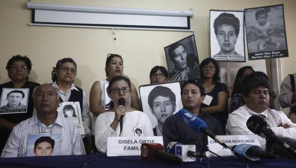 Los familiares de las víctimas de Barrios Altos y la Cantuta han marcado su rechazo al indulto a Alberto Fujimori. (Perú21)