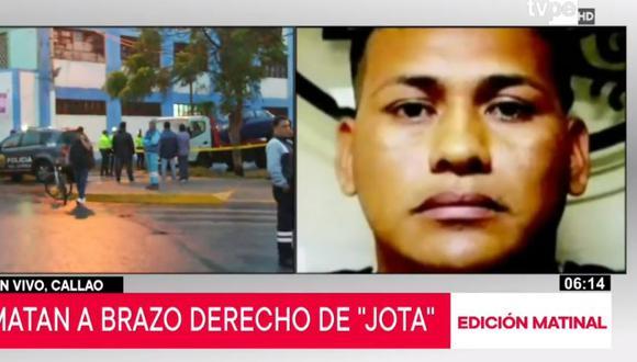 Omar Rossy fue capturado el año pasado al ser acusado de extorsionar a empresas de transporte. (Video: TVPerú)