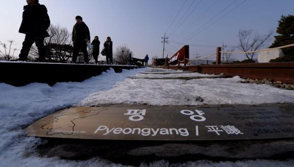Tensión entre las Coreas. (EFE)