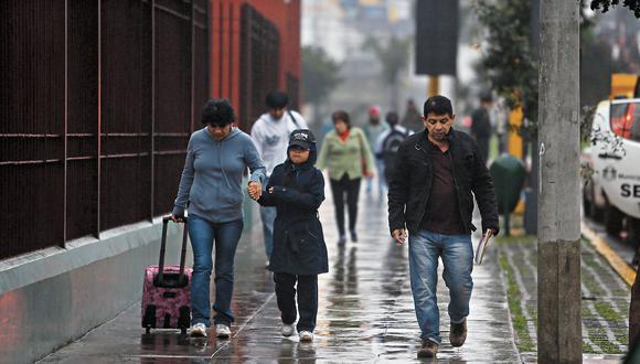 En Lima Oeste, la temperatura máxima llegaría a 19°C, mientras que la mínima sería de 14°C. (Rafael Cornejo)