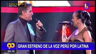 Mira los mejores momentos del gran estreno de La Voz Perú