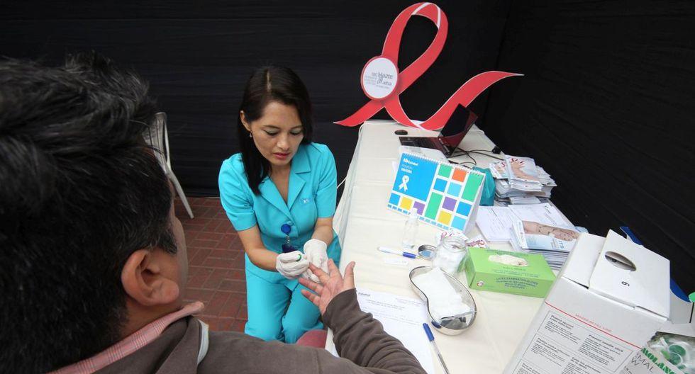 En la acción también se brindará charlas y consejería sobre la prevención de la infección del VIH. (EsSalud)