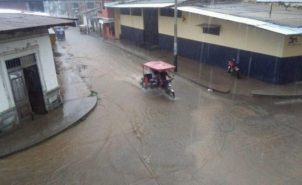 En Chulucanas se registró una lluvia extrema. (NOTICIAS PIURA 3.0)