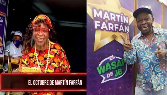 Martín Farfán vende turrones en un local de la avenida Tacna. (Al Sexto Día/Instagram)