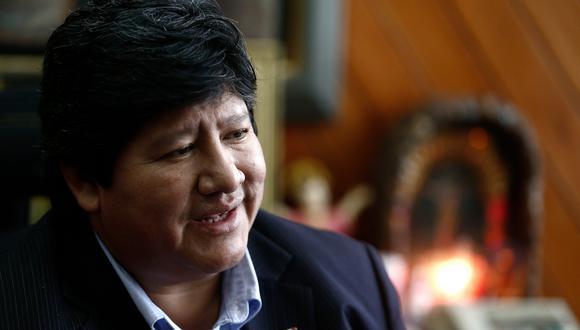 Edwin Oviedo, presidente de la Federación Peruana de Fútbol. (Geraldo Caso/Perú21)