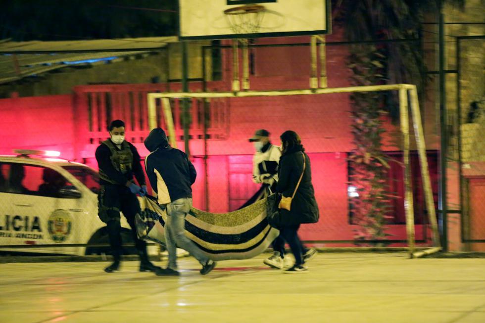 Un sujeto fue baleado durante el toque de queda en Ancón. (Foto: César Grados/GEC)