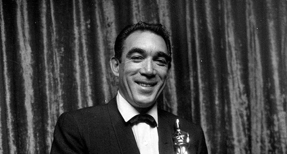 """Antonio Rodolfo """"Anthony"""" Quinn Oaxaca nació en Chihuahua, México, y se convirtió en el primer actor latino en ganar más de un premio Oscar. (Getty)"""