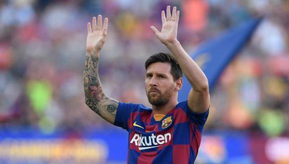 La intención de Beckham sería fichar a Messi a mitad de 2020, aunque podría esperar un año más, cuando la Pulga termine todo tipo de vínculo con Barcelona. (Foto: AFP)