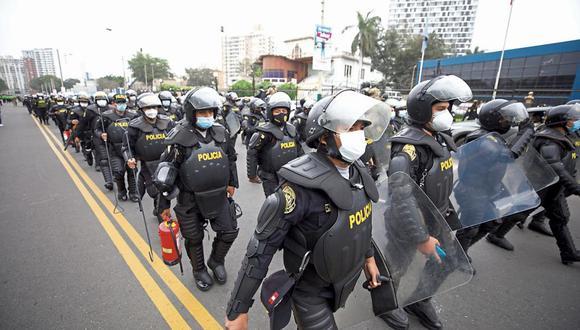 La Policía se encuentra en alerta absoluta en la Región Lima tras la muerte de Abimael Guzmán ante posibles manifestaciones o atentados. (Foto:GEC)