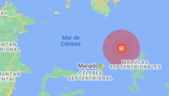 El servicio geológico de Estados Unidos, que registra la actividad sísmica mundial, localizó el hipocentro a 68 kilómetros de profundidad. (Foto: Google Maps)