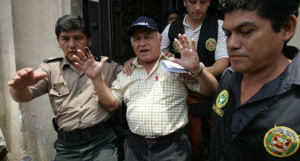 DE REGRESO. Exagente del SIE se resiste a volver al penal Miguel Castro Castro. (Rafael Cornejo)
