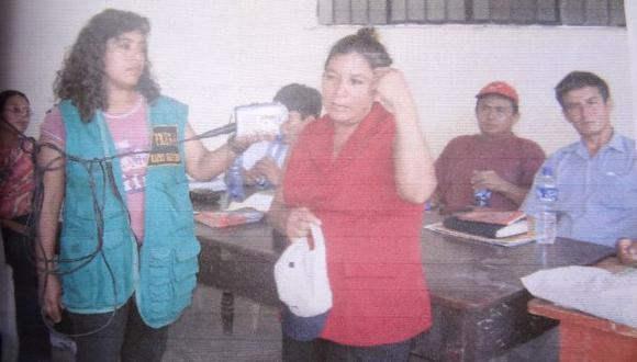 CARA A CARA. Santos y Petronila Vargas se reencontrarían después de ocho años. (Difusión)