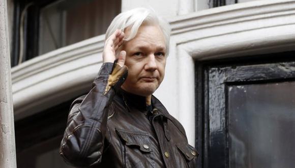 El fundador de Wikileaks se encuentra asilado en la embajada de Ecuador en Londres desde 2012. (Foto: AP)