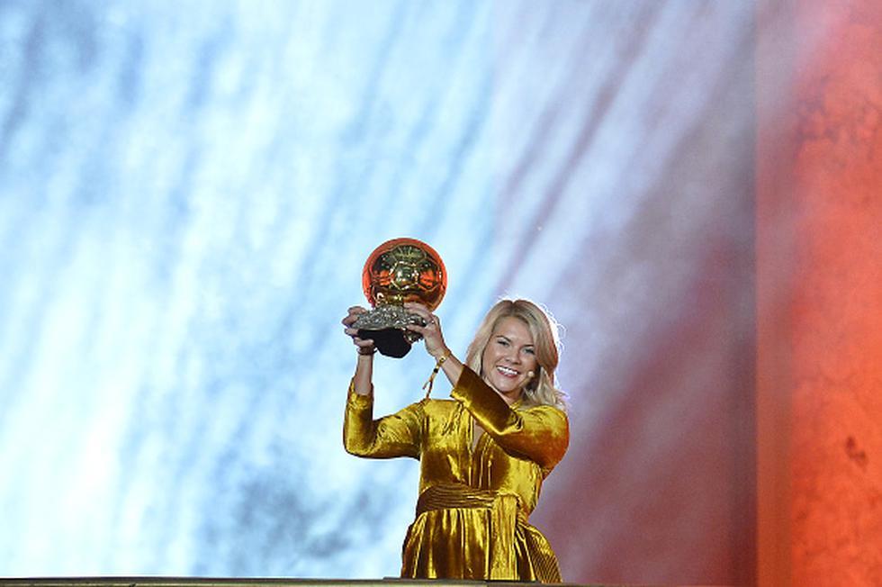 Ada Hegerberg, Balón de Oro actual decidió no participar del Mundial Femenino de Francia como protesta por tratos discriminatorios en el deporte rey. (Foto: Getty)