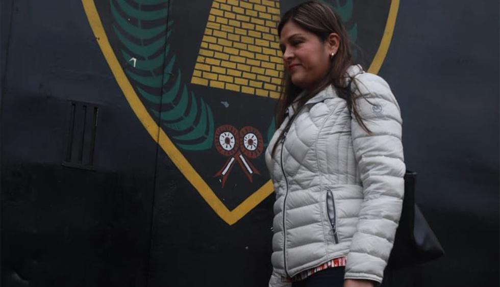 Karina Beteta llegó a visitar a Keiko Fujimori por su cumpleaños 44 en el penal Anexo de Mujeres de Chorrillos. (Foto: Juan Ponce / GEC)