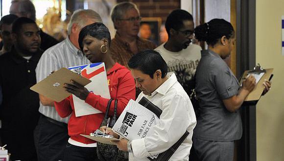 La tasa de desempleo bajó 8,5% en el gigante norteamericano. (AP)